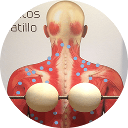 masaje ball actividad